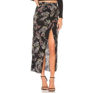 """SOLD Stone Cold Fox """"Redford"""" silk wrap skirt NWOT"""